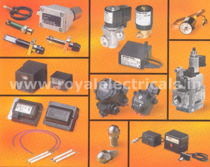 All Spares for Burner