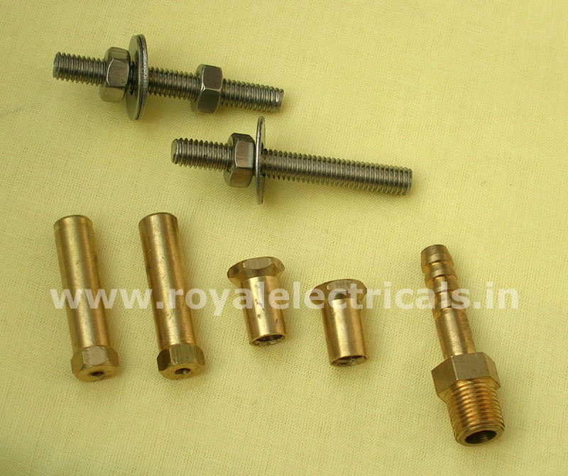 Base Stud Set, SS Nut Bolt & Nozzel