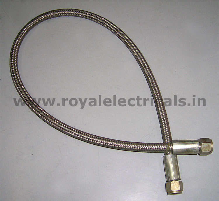 Teflon Braided Hose Pipe